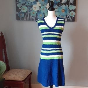 Vintage striped sweater dress!